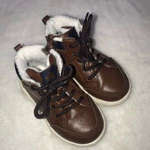 H&M brown boots, toddler size 6
